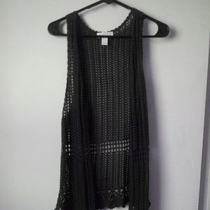 Crocheted vest